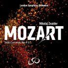 LSO0807. MOZART Violin Concertos Nos 4 & 5 (Znaider)