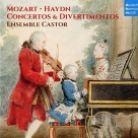 88985 43264-2. MOZART; HAYDN Concertos & Divertimentos
