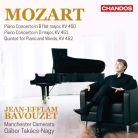 CHAN20035. MOZART Piano Concertos Nos 15 & 16 (Bavouzet)