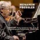 AVI855 3387. MOZART Piano Concertos Nos 23 & 27 (Pressler)