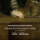 HMM90 2360. MOZART Sonatas for Fortepiano & Violin, Vol 1 (Faust & Melnikov)