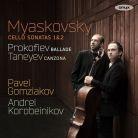 ONYX4176. MYASKOVSKY Cello Sonatas