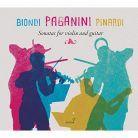 GCD923410. PAGANINI Sonatas for Violin and Guitar (Biondi & Pinardi)