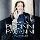 AV2284. PAGANINI 24 Caprices. Marina Piccinini