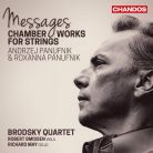 CHAN10839. A PANUFNIK String Quartets Nos 1 - 3 R PANUFNIK Memories of my Father