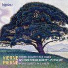 CDA68036. PIERNÉ Piano Quintet VIERNE String Quartet