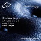 LSO0779. RACHMANINOV Symphony No 3 BALAKIREV Russia