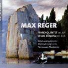 KTC1562. REGER Piano Quintet. Cello Sonata No 4