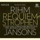 NEOS11732. RIHM Requiem-Strophen (Jansons)