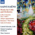 8 573737. SAINT-SAËNS Cello Concertos Nos 1 & 2. Romance