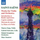 8 573411. SAINT-SAËNS Works for Violin and Piano