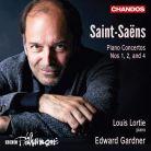 CHAN20031. SAINT-SAENS Piano Concertos 1, 2 & 4 (Lortie)