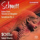 SCHMITT Symphony No 2. Antoine et Cléopâtre - 2 Suites
