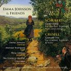 SOMMCD0156. SCHUBERT Octet CRUSELL Concert Trio