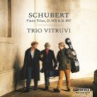 BRIDGE9510. SCHUBERT Piano Trios (Trio Vitruvi)
