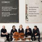 BIS2258. SCHUMANN Quartet BRAHMS Quintet