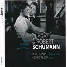 50-1502. C & R SCHUMANN Works for Violin, Viola and Piano