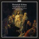 CPO777 929-2. SCHÜTZ Symphonie Sacrae I