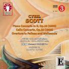 CDLX7302. SCOTT Piano Concerto, Op 10. Cello Concerto, Op 19. Yates