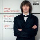 PCL0103. SCRIABIN Preludes. Piano Sonata No 10 LISZT Late Works