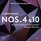 PTC5186 647. SHOSTAKOVICH Symphonies Nos 1 & 10 (Pletnev)