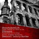 RCD1009. SHOSTAKOVICH Chamber Symphony STRAUSS Metamorphosen