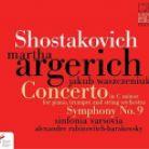 NIFCCD053. SHOSTAKOVICH Concerto for Piano & Trumpet. Symphony No 9