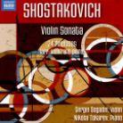 8 573753. SHOSTAKOVICH Violin Sonata. 24 Preludes