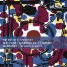 WER6731-2. SILVESTROV Meditation. Spectrums. Symphony No 2.