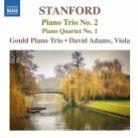 8 573388. STANFORD Piano Trio No 2. Piano Quartet No 1
