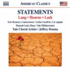 8 559829. Statements: Choral Music from Yale University
