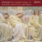 CDA68185. STRAUSS The Complete Songs Vol 8