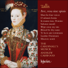 CDA 68076. TALLIS Mass for Four Voices. Ave, rosa sine spinis