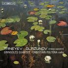 BIS2177. TANEYEV; GLAZUNOV String Quintets