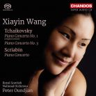 CHSA5216. TCHAIKOVSKY; SCRIABIN Piano Concertos (Xiayin Wang)