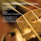 LPO0094. LALO Symphonie espagnole TCHAIKOVSKY Violin Concerto,