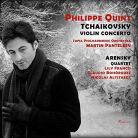 10432. TCHAIKOVSKY Violin Concerto ARENSKY String Quartet No 2