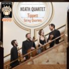 WHLIVE0080/2. TIPPETT String Quartets