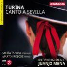 CHAN10819. TURINA Canto a Sevilla
