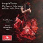 CRC3463. TURINA Complete Violiin Sonatas