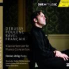 CD93 302. POULENC.;RAVEL Piano Concertos. Florian Uhlig