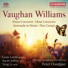 CHSA5201. VAUGHAN WILLIAMS Oboe Concerto. Piano Concerto