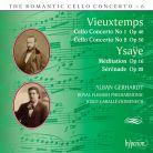 CDA67790. VIEUXTEMPS Cello Concertos YSAŸE Meditation