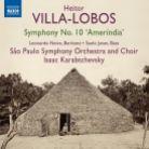8 573243. VillA-LOBOS Symphony No 10