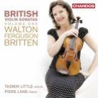 CHAN10770. British Violin Sonatas Vol 1. Tasmin Little