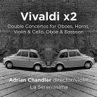 AV2392. Vivaldi x2 – Double Concertos