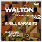 ONYX 4168. WALTON Symphonies Nos 1 & 2 (Karabits)