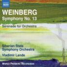 8 573879. WEINBERG Symphony No 13. Serenade (Lande)