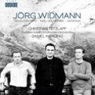 ODE1215-2. WIDMANN Violin Concerto. Antiphon. Daniel Harding
