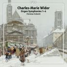 CPO777 7052. WIDOR Organ Symphonies Nos 1-4